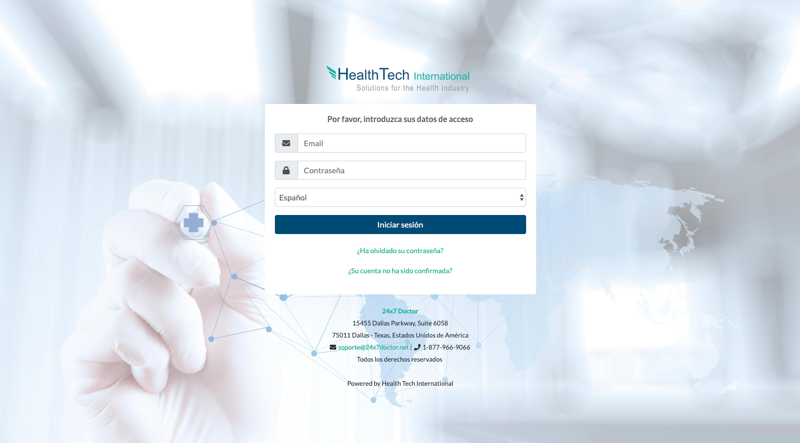 Health Tech Login
