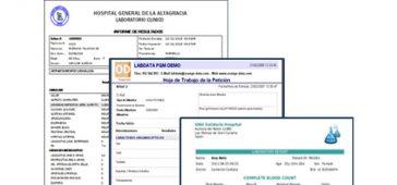 PDMS electronic lab prescription